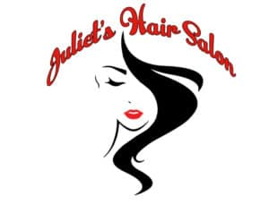 Juliet's-Hair-Salon-Logo-Design